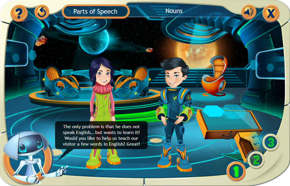 Nouns - eLearning Game