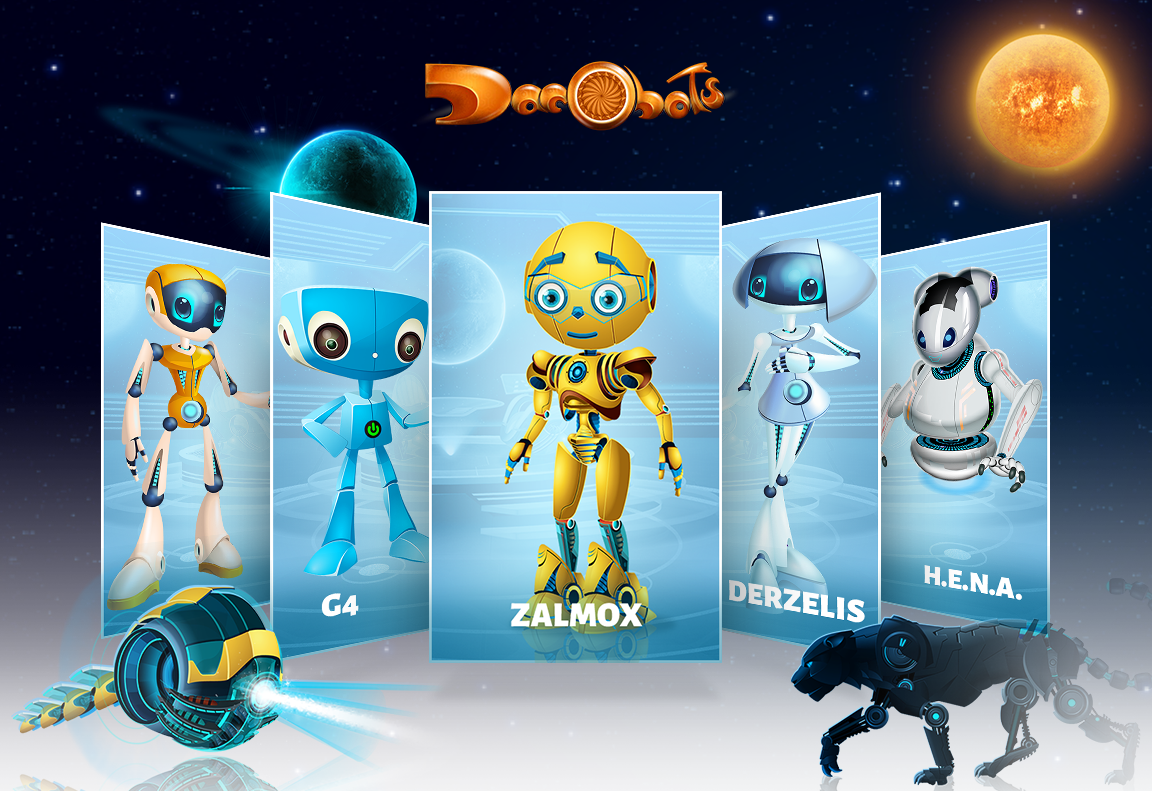 Personaje Dacobots