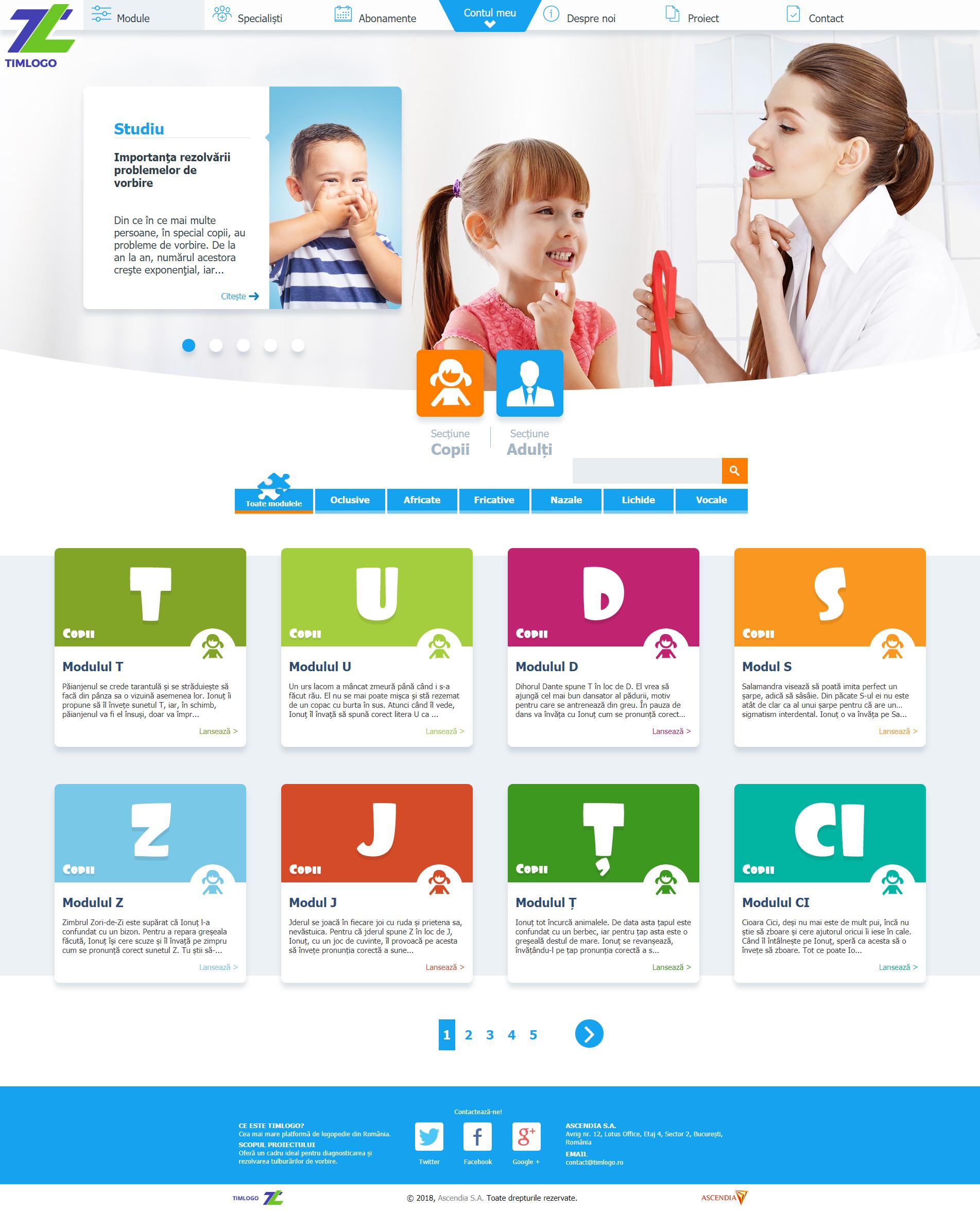 screenshot site Timlogo